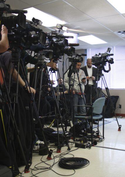 News & Media with cameras