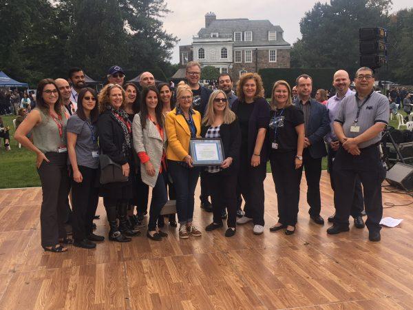 Group picture Sunnybrook Team Award